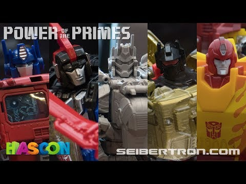 HASCON 2017: Transformers Power of the Primes and Volcanicus