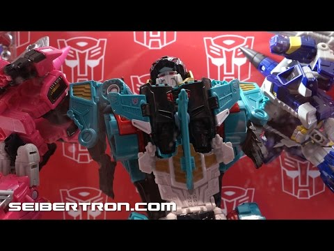 SDCC 2016 Hasbro's Transformers Combiner Wars with Liokaiser and more Product Displays