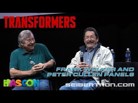 HASCON 2017: Frank Welker and Peter Cullen Panels (voices of Megatron and Optimus Prime)