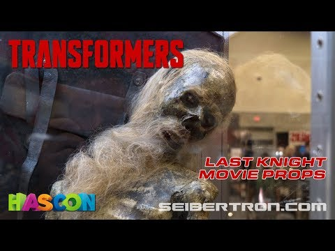 HASCON 2017: Transformers The Last Knight Movie Props