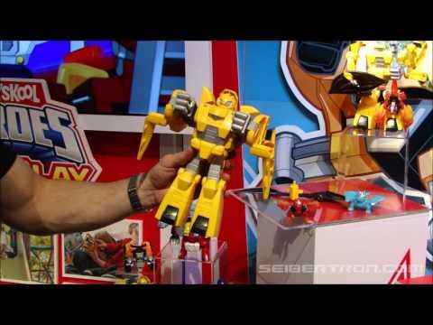 Toy Fair 2017: Playskool Transformers Rescue Bots