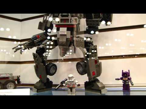 Transformers BotCon 2011 Kre-O Kreons display area