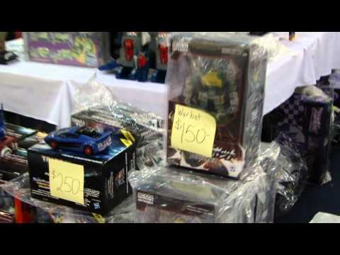 Transformers BotCon 2011 Dealer Room Tour (Part 4)