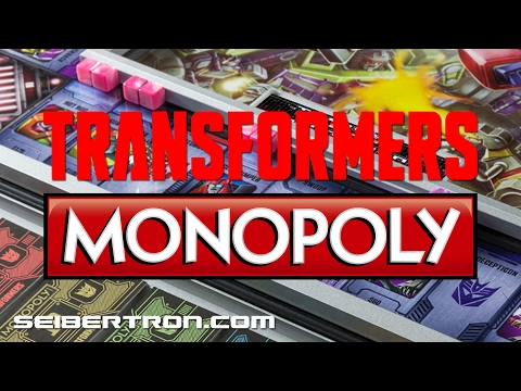 Toy Fair 2017: Transformers Monopoly by Winning Solutions
