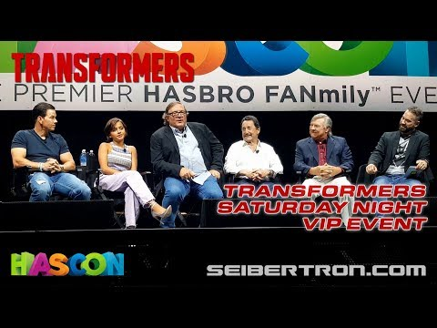 HASCON 2017: Transformers VIP Event with Wahlberg, Sue Blu, Welker, Cullen, Hasbro and more!