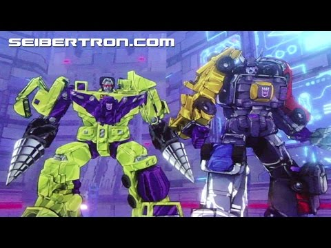 Transformers Devastation trailer with Menasor, Devastator and more shown at NYCC 2015