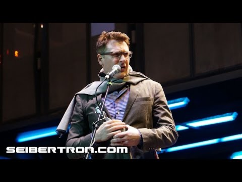 David Kaye's acceptance speech at BotCon 2016 Transformers Hall of Fame