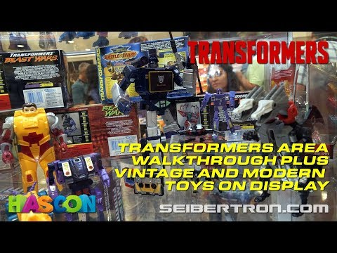 HASCON 2017: Transformers Area Walkthrough plus Vintage and Modern Toys on Display