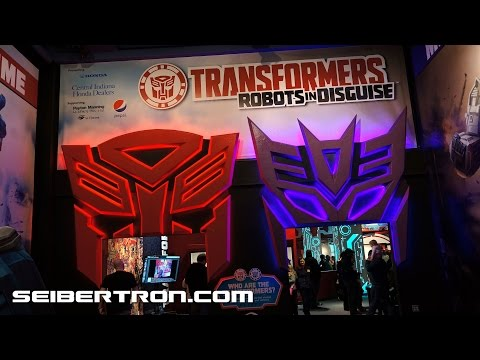 Transformers Robots In Disguise Exhibit at Children's Museum in Indianapolis 2015