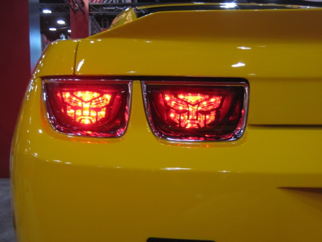 Bumblebee Lights Up The Sema Show In Vegas Transformers