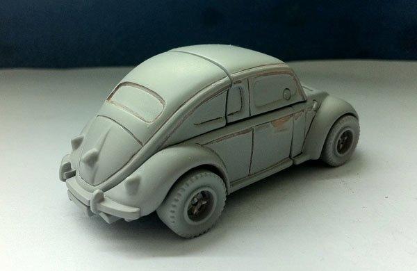 News from i-Gear: New Vintage VW Käfer (Beetle) Bumblebee! - Transformers