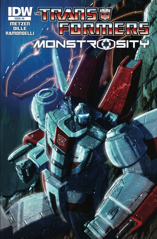 Transformers: Monstrosity #6 Q&A with Livio Ramondelli
