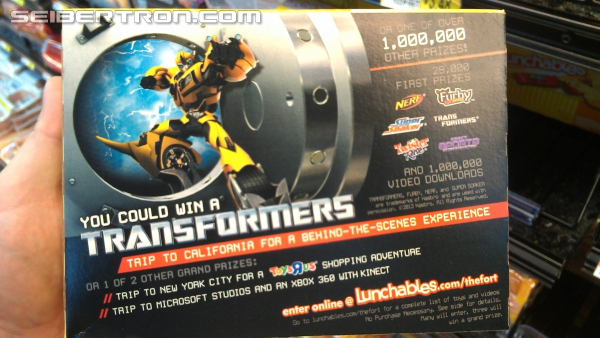 Transformers News: Transformers Lunchables Contest