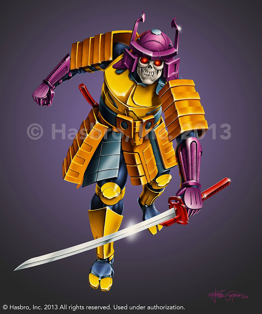 Transformers News: Emiliano Santalucia SDCC13 Bludgeon Box Art