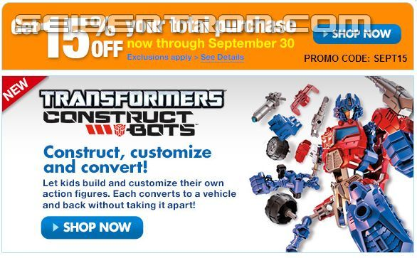Transformers News: Save 15% on new toys from Transformers, My Little Pony and more at HTS