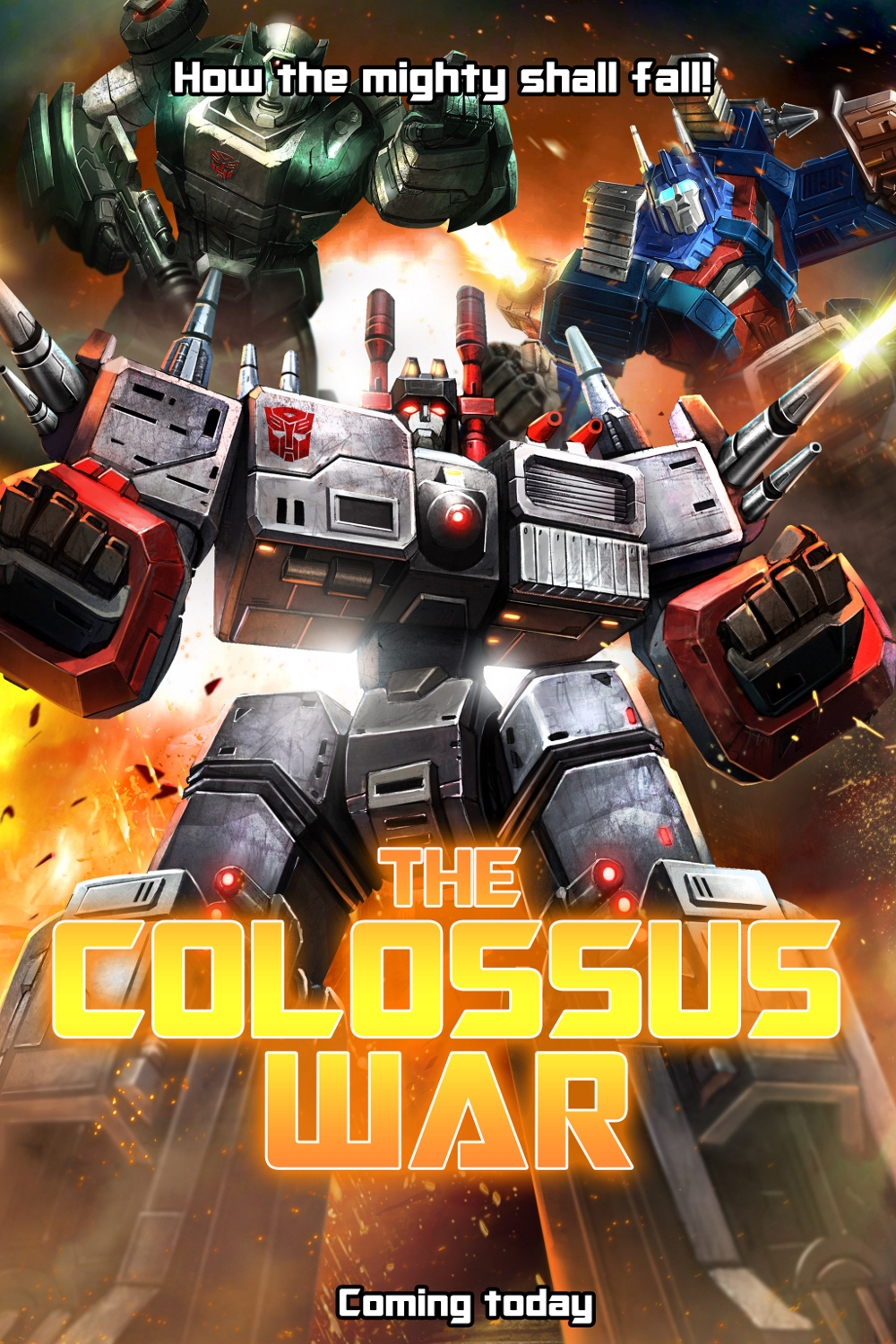 Transformers News: Transformers: Legends Game New Episode - Colossus War