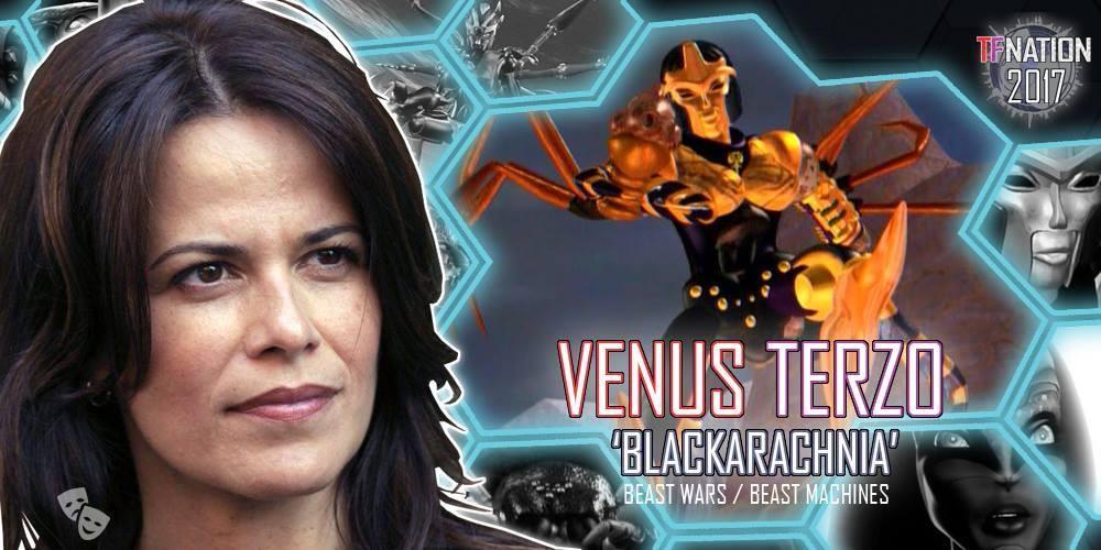Transformers News: Venus Terzo (Blackarachnia) to Attend TFNation 2017