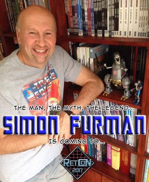 Transformers News: Retcon 2017 Update: Simon Furman to Attend