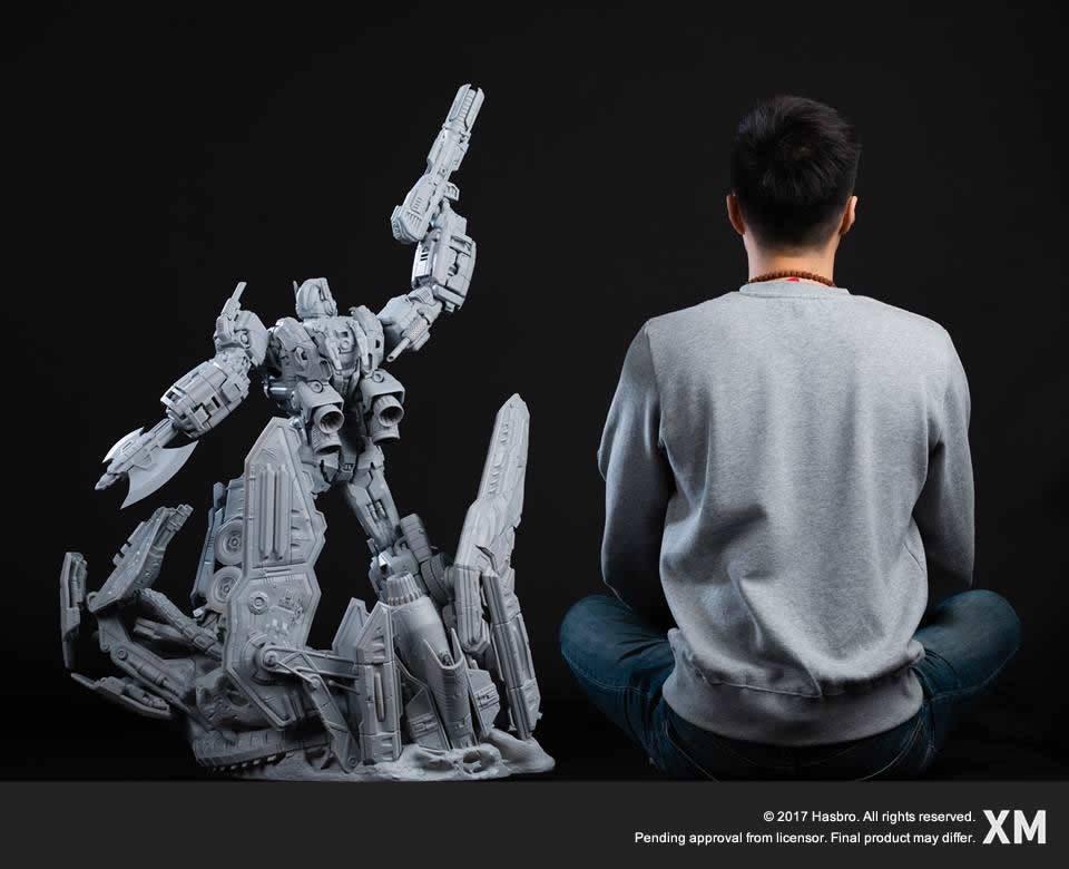 Transformers News: New Images of XM Studios Premium Collectibles Optimus Prime Statue
