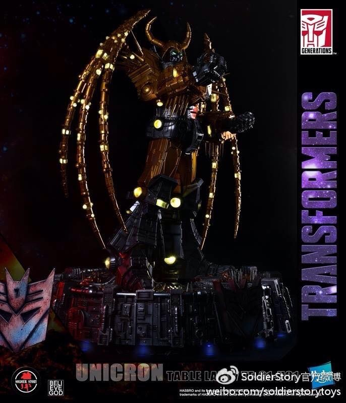 New Generation 1 Unicron Lamp Revealed - Transformers