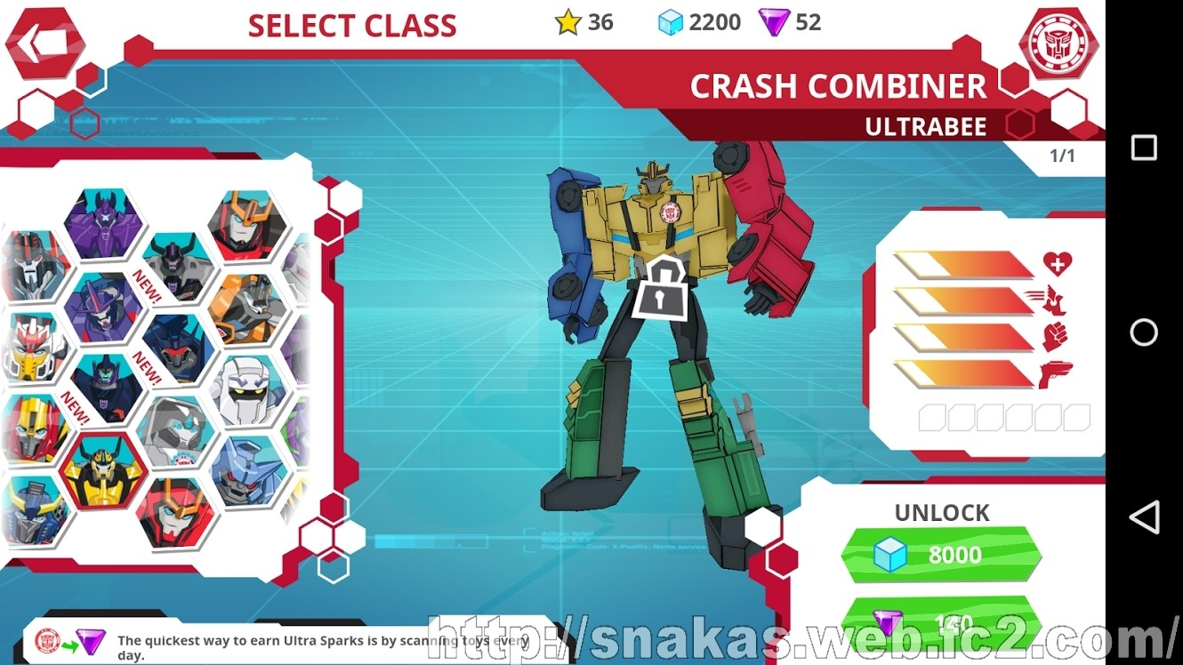 Transformers News: Robots in Disguise App Updates reveal New Characters and Toys Like Menasor and Galvatronus