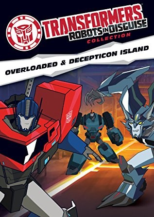 Transformers News: Robots in Disguise Collection DVD: Decepticon Island and Overloaded