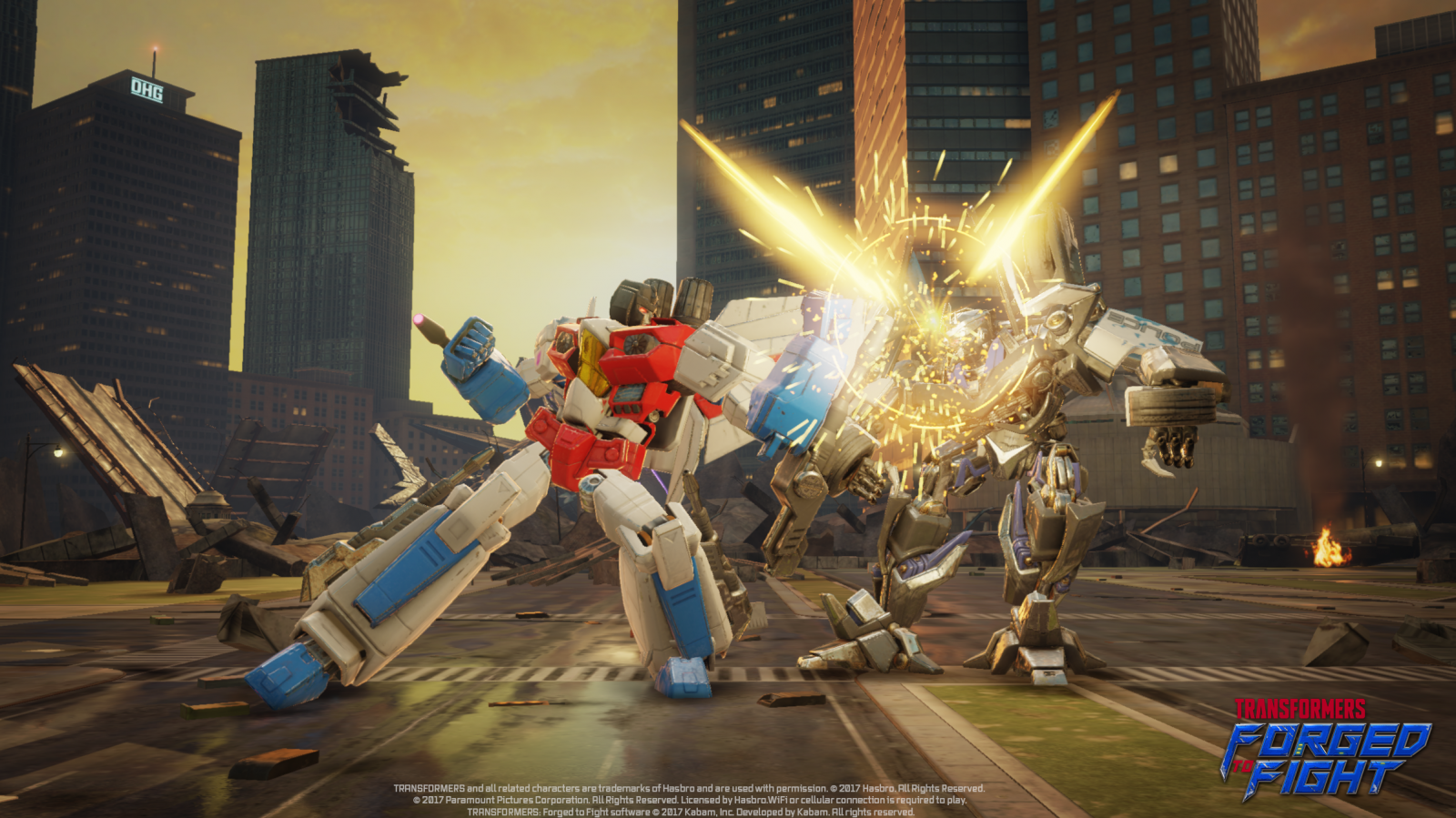 Transformers News: New launch content for Transformers: Forged to Fight action-fighting RPG mobile game