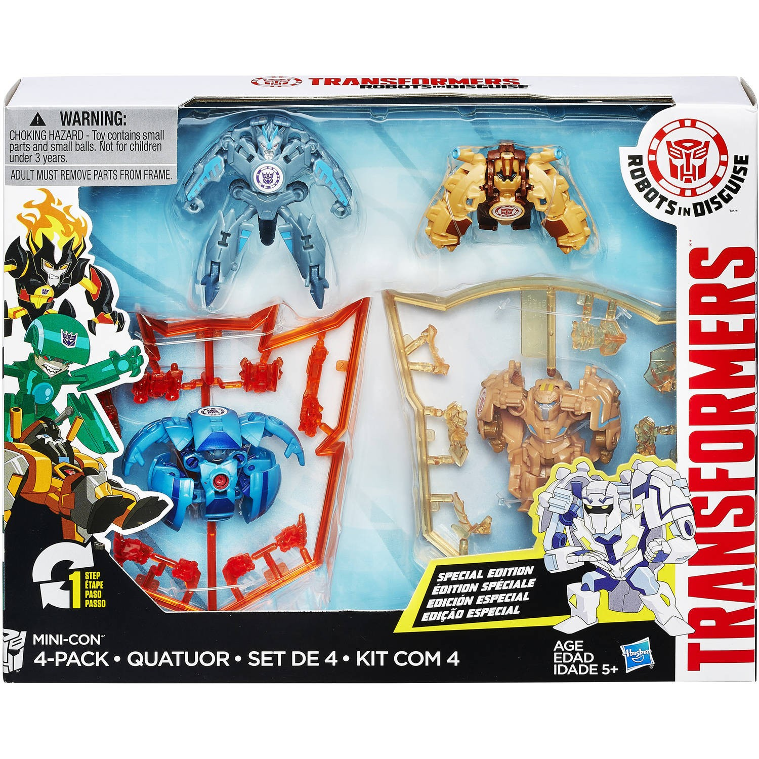 Transformers News: Steal of a Deal: Minicon Markdowns on Hasbro Toy Shop's Ebay Store