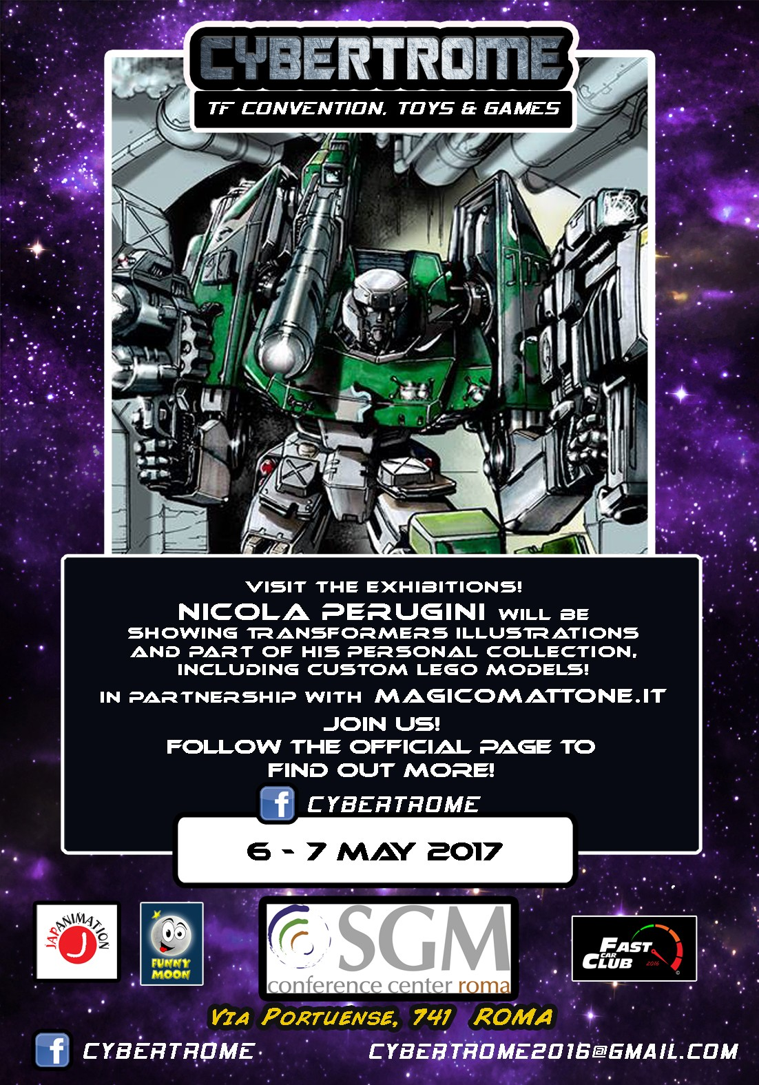 Transformers News: More Information and Tickets for Cybertrome 2017