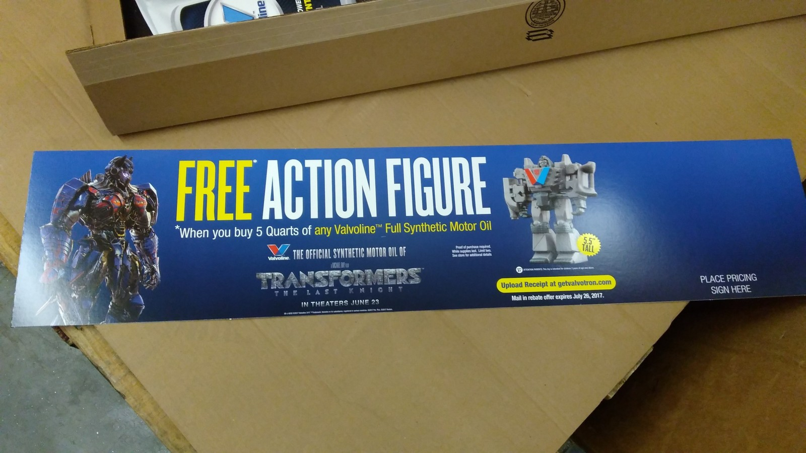 Transformers News: How to Get a Free Transformers the Last Knight Valvotron Toy