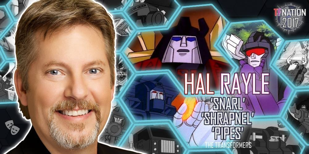 Transformers News: Hal Rayle and Maggie Roswell to Attend TFNation 2017