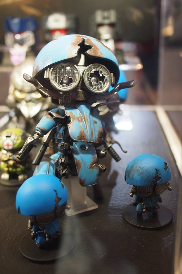 Transformers News: Images from Thailand Comic Con 2017: The Last Knight; HeroCross, SDX, XM Figures