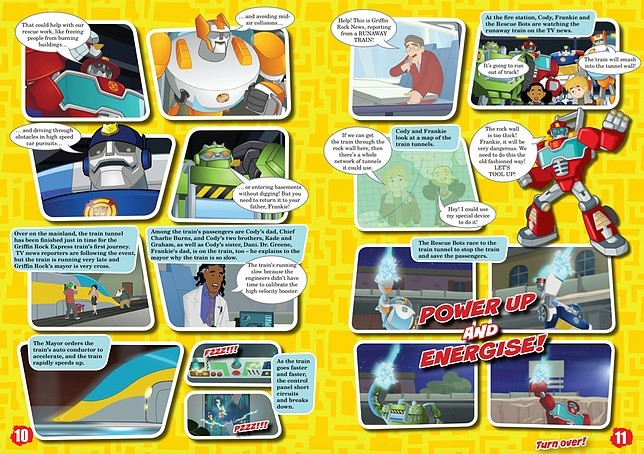 Transformers News: New Transformers: Rescue Bots Magazine Launching in UK