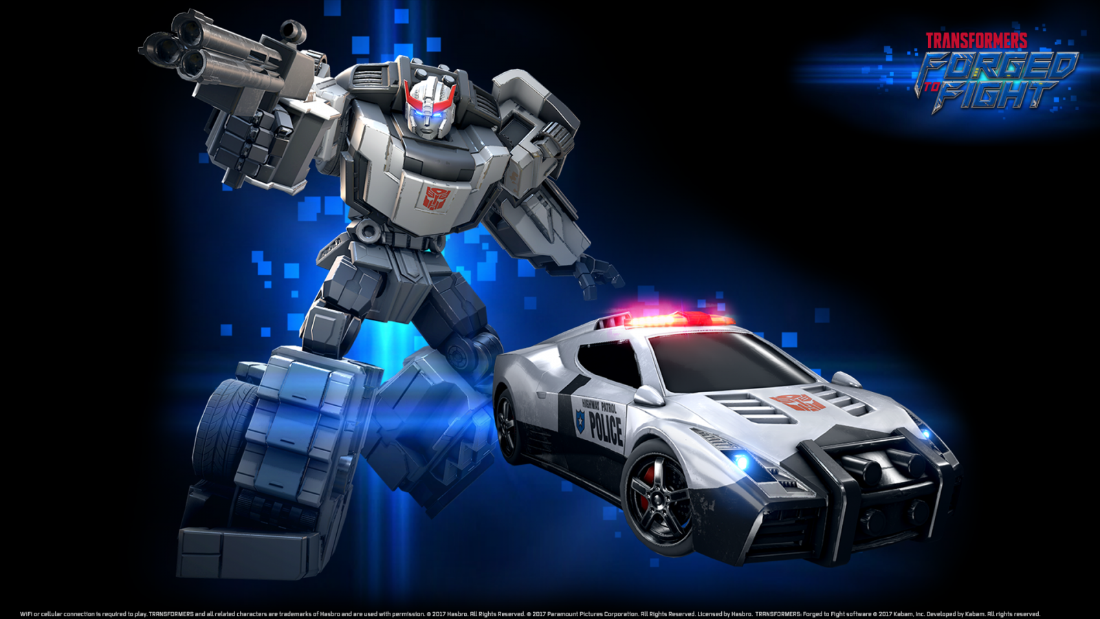 Transformers News: Autobot Prowl Joins Transformers: Forged to Fight - Interview, Details and More