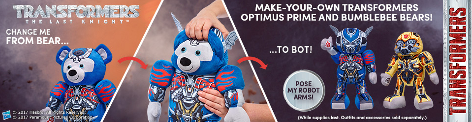 Transformers News: Transformers: The Last Knight Build-A-Bears And Accessories