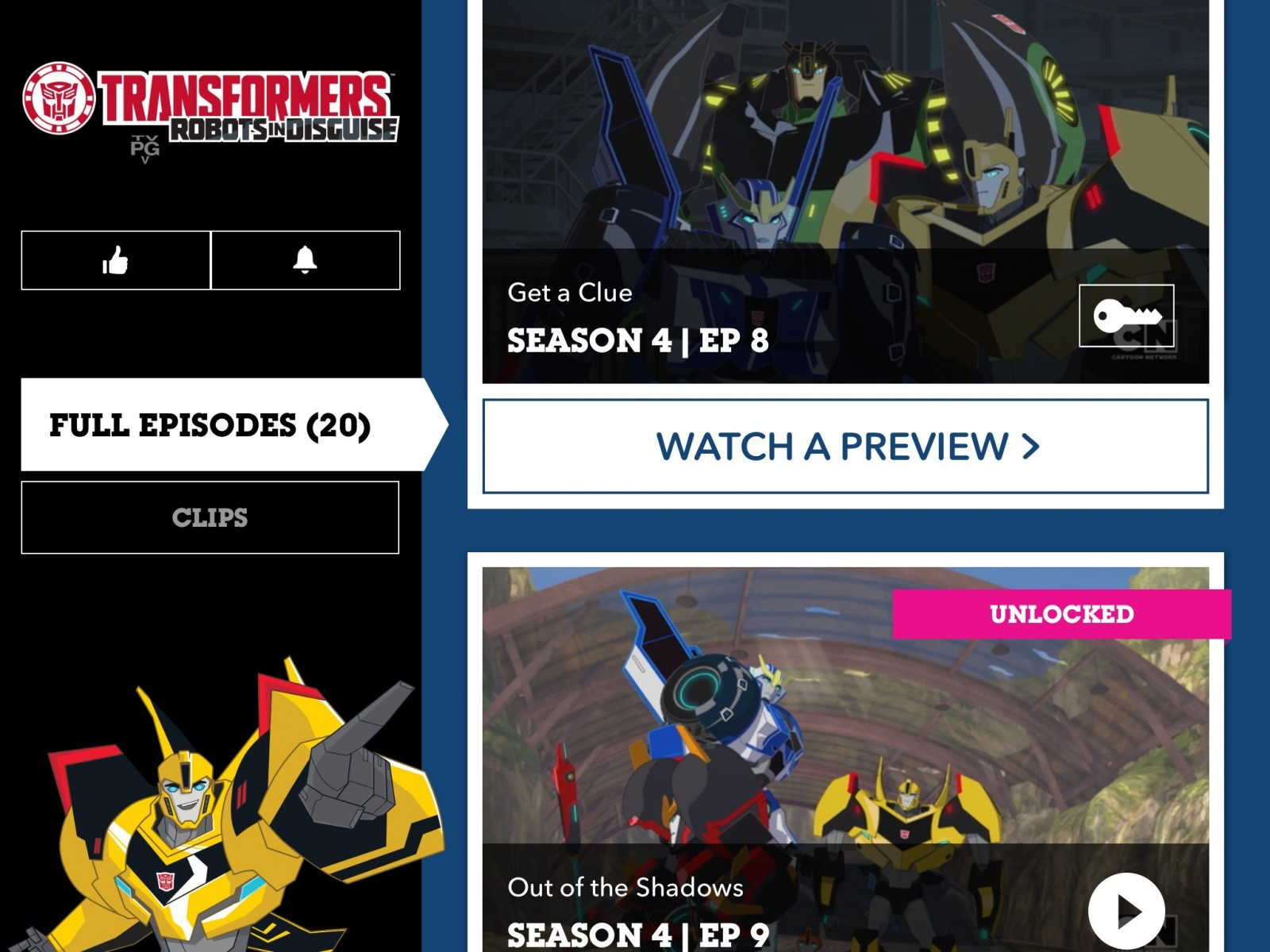 Transformers News: Transformers: Robots In Disguise Combiner Force Episodes 8-10 on Cartoon Network App