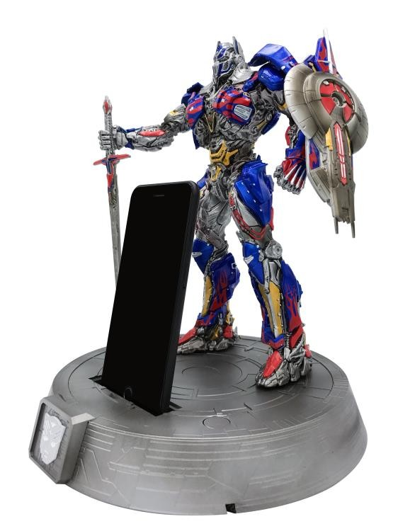 Transformers News: Transformers: The Last Knight Phone Dock Statues Coming Soon