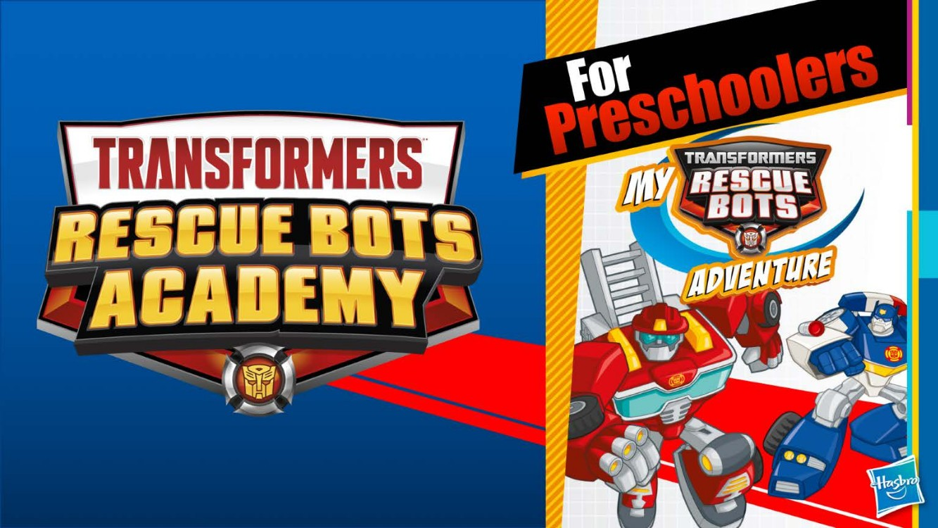 Transformers News: New Logo for Transformers: Rescue Bots Academy Series