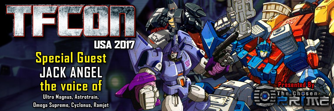 Transformers News: Voice Actor Jack Angel to Attend TFcon DC 2017