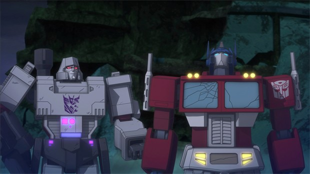 Transformers News: Official Poster and Screenshots for Machinima Transformers Titans Return Animated Series