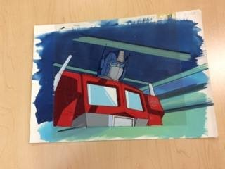 Transformers News: Original Animation Cells for The Transformers G1 for Auction