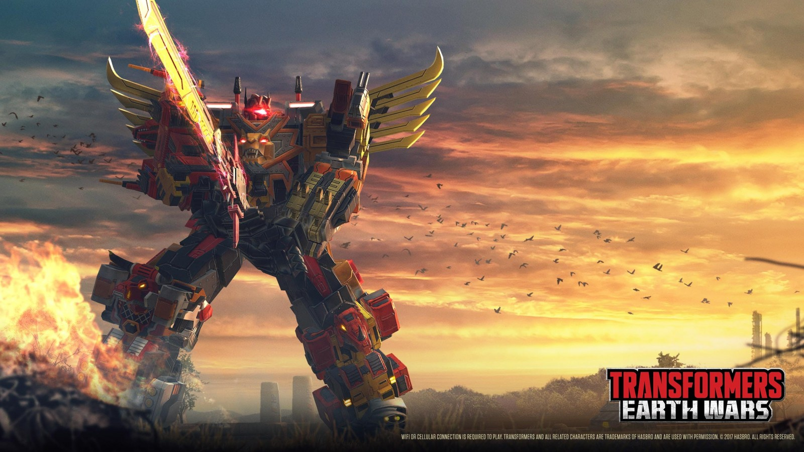Transformers News: New Dinobot Combiner VOLCANICUS To Debut Soon in Transformers: Earth Wars