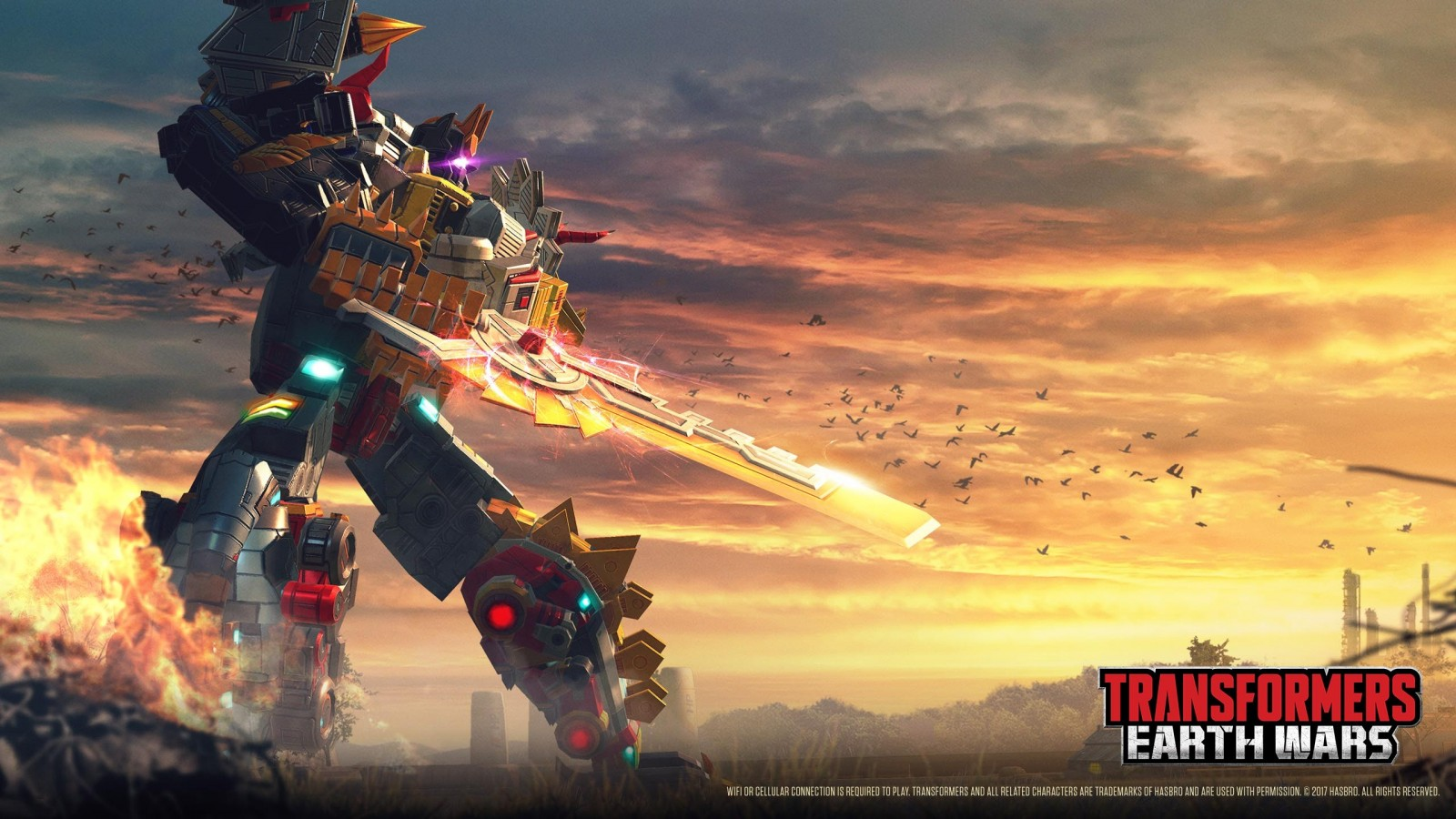 Transformers News: Transformers Earth Wars Developer Diaries featuring Volcanicus and Predaking