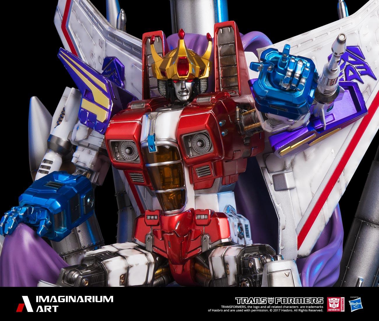 Transformers News: Colour Images of Imaginarium Art Transformers Statue Coronation Starscream
