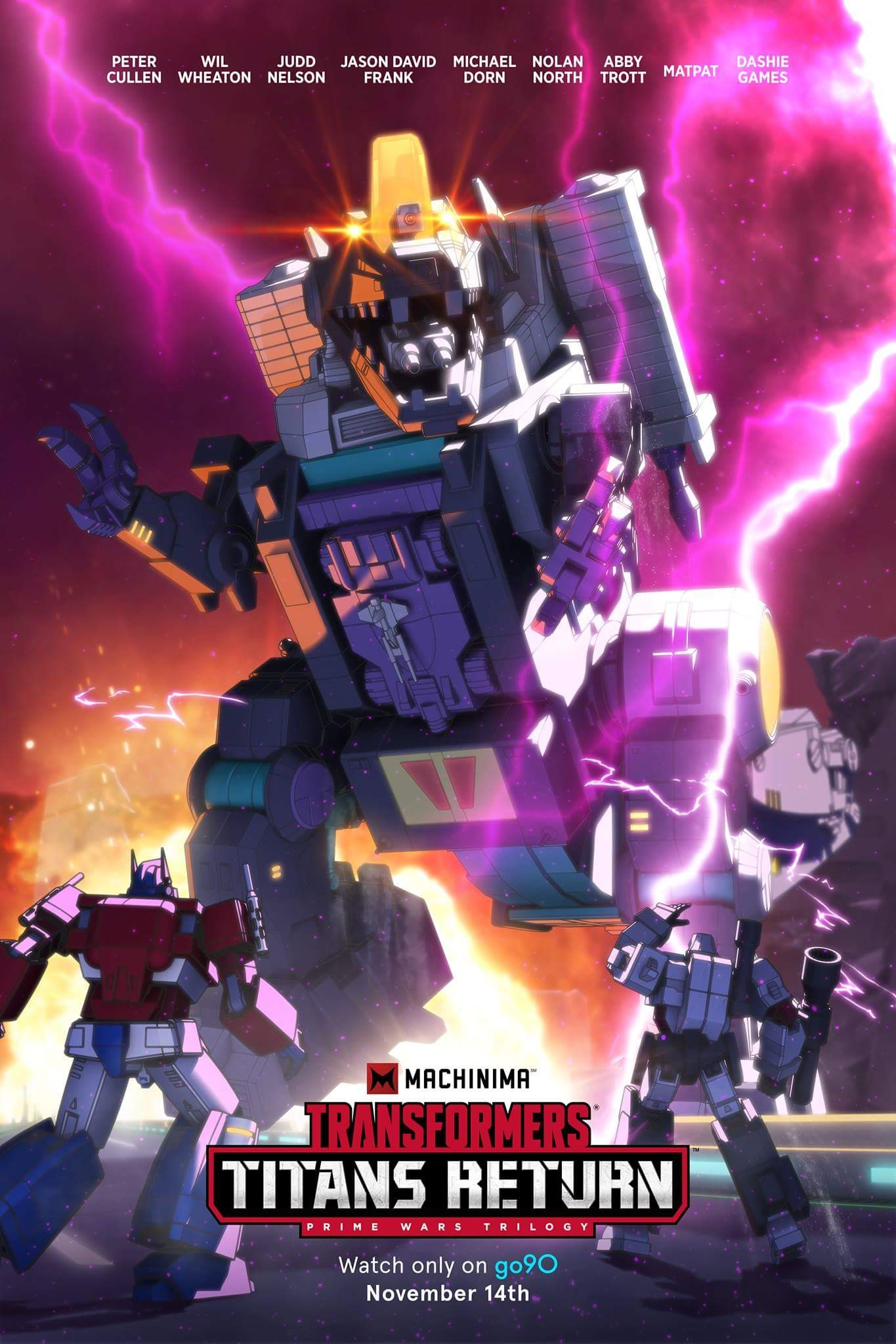 Transformers News: Re: Machinima Transformers Titans Return Animated Series Discussion Thread