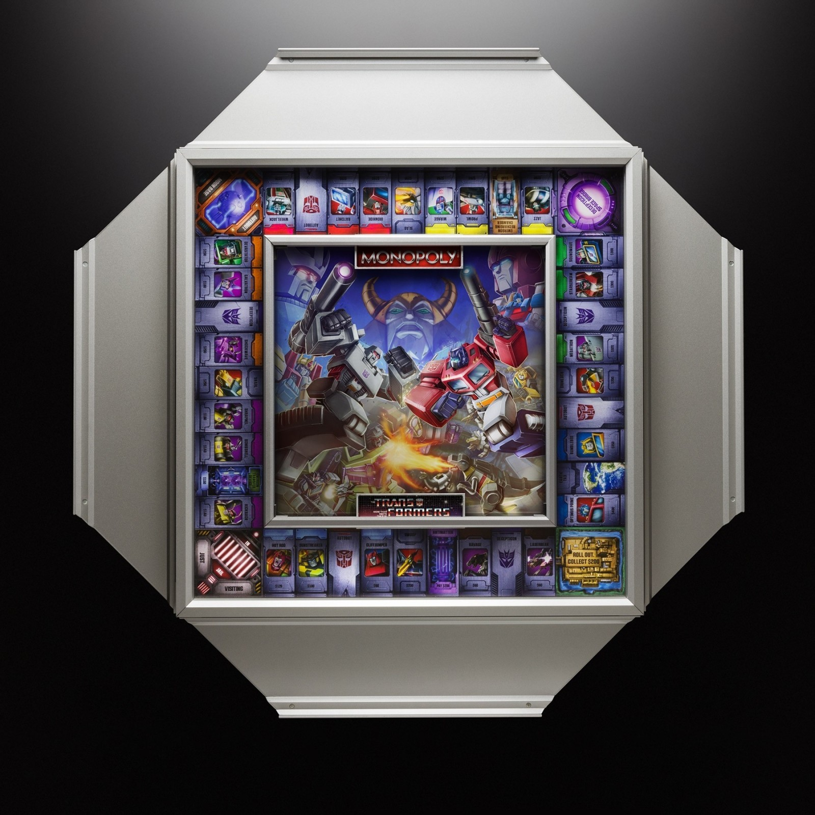 Transformers News: Winning Solutions Transformers Monopoly Deluxe Edition Now Available