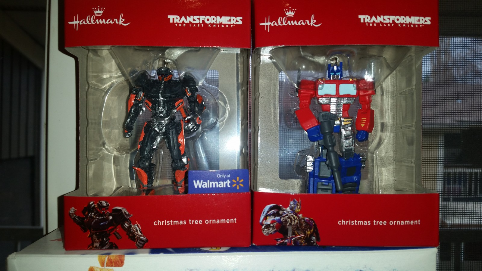 Transformers News: Hallmark Hot Rod and Optimus Prime Ornaments Found at Retail (Plus Packaging Variant)