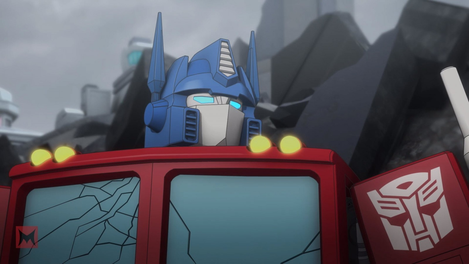 Transformers News: Interview with Voice of Optimus Prime Peter Cullen on Machinima Transformers: Titans Return