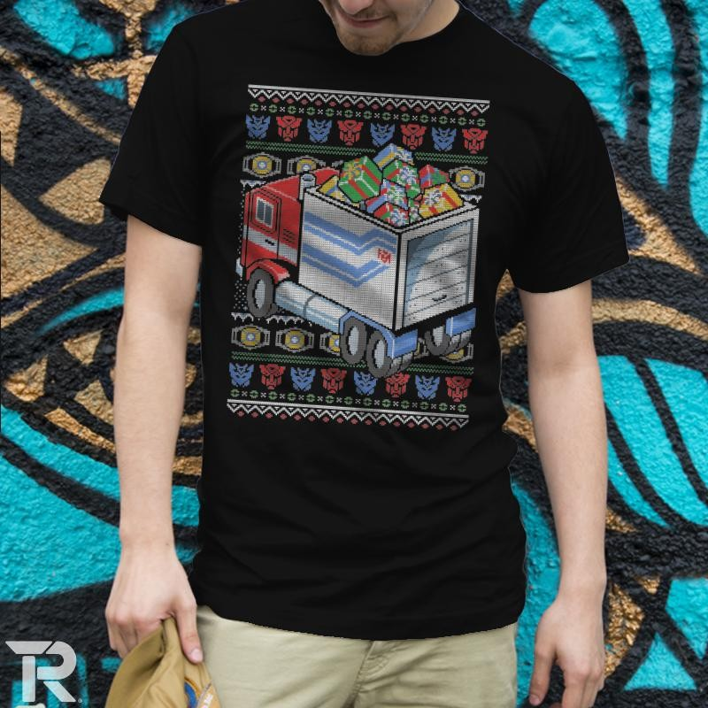 Transformers News: Presents in Disguise Design from RIPT Apparel Black Friday Offer
