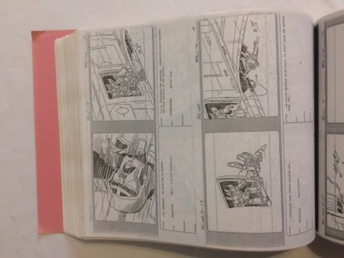 Transformers News: Transformers The Movie 1986 Original Storyboards Reduction Master for Auction